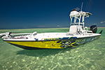 Yellowfin 24 bay boat. Boats of Dream Catcher Charters