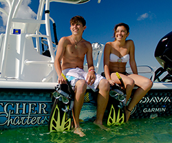 Key West boating charters. Snrokeling, fishing, sight seeing, custom charters